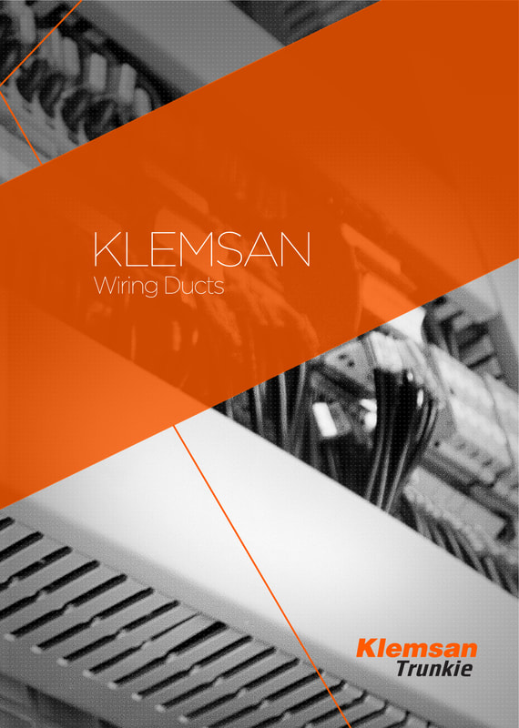 KLEMSAN CABLE TRUNKING / PVC duct  IN UAE